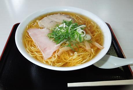 若竹食堂の中華そば 002