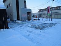 足羽神社、除雪 004+1
