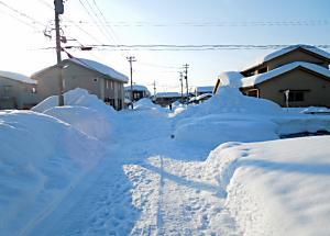 <豪雪の記録ーご近所>
