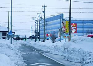<道路の除雪状況>