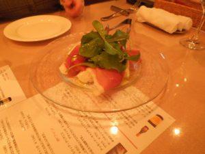 <テンダロッサで夕食>