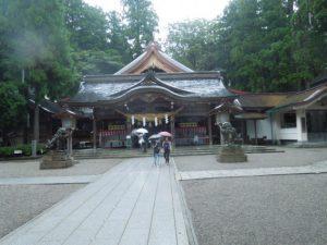 <白山比咩神社に参拝しました>